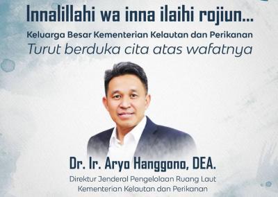 Dirjen PRL Aryo Hanggono Tutup Usia karena Corona, Instagram KKP Banjir Doa Belasungkawa