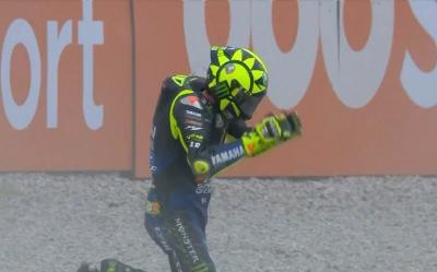 Meregalli: Yamaha Patah Hati Rossi Jatuh di Catalunya