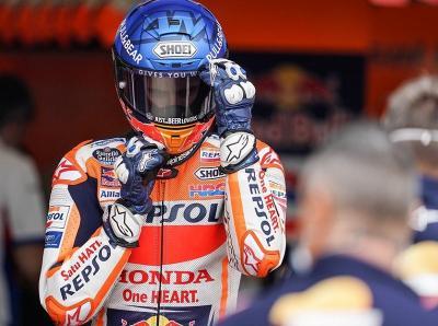 Tak Kunjung Bangkit, Alex Marquez Masih Menderita di MotoGP Catalunya 2020