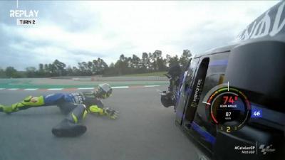 Gagal Finis di Misano dan Catalunya, Rossi: Penyebabnya Berbeda!