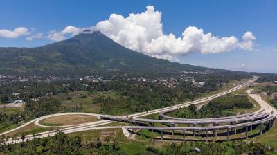 Terpanjang di Sulawesi Utara, Tol Manado-Bitung Telan Biaya Rp5,12 Triliun