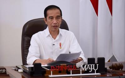 Begini Tanggapan Jokowi ke Pedagang Asongan yang Curhat Omzetnya Turun