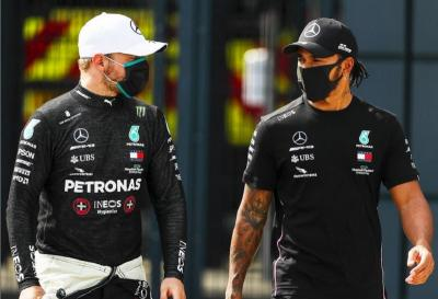 Tekad Bottas dan Hamilton Lanjutkan Tren Positif ke Seri Berikutnya