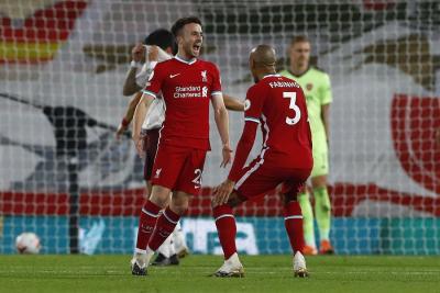 Diogo Jota Cetak Gol, Liverpool Bantai Arsenal 3-1