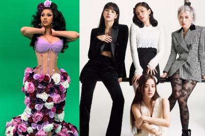 Cardi B Klaim Lagu Duet dengan BLACKPINK di The Album Luar Biasa