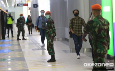 Ada PSBB, Penumpang MRT Turun Drastis