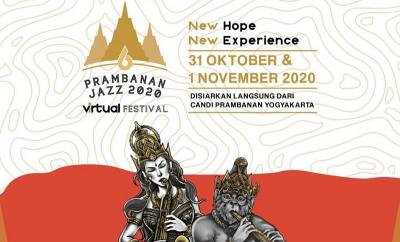 Pandemi Tak Kunjung Usai, Prambanan Jazz Festival 2020 Digelar Virtual