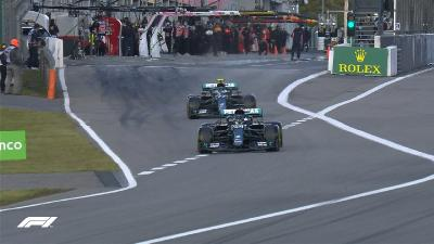 Hasil Kualifikasi F1 GP Eifel 2020, Valtteri Bottas Start Terdepan