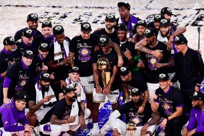 Usai Menanti 10 Tahun, LA Lakers Akhirnya Rebut Gelar Juara Ke-17 NBA