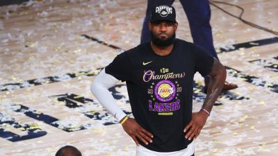 LeBron James Cetak Sejarah Baru Usai Raih Gelar Juara NBA Bersama Lakers