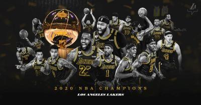 LA Lakers Juara NBA 2019-2020, LeBron James Dkk Berhasil Penuhi Janji kepada Kobe Bryant