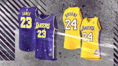 Berkat LeBron James dan Kobe Bryant, Lakers Pecahkan Rekor Penjualan Jersey di Final NBA