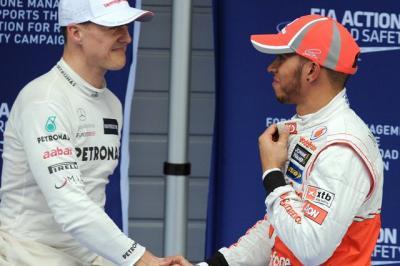 Berhasil Samai Rekor Schumacher, Hamilton Merasa Terhormat