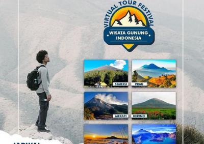 Kangen Naik Gunung? Yuk, Ikuti Tur Virtualnya