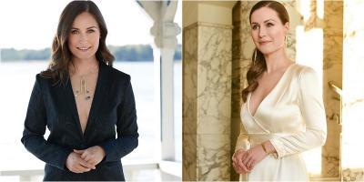 4 Potret Sanna Marin, Perdana Menteri yang Foto Belahan Dadanya Jadi Perbincangan