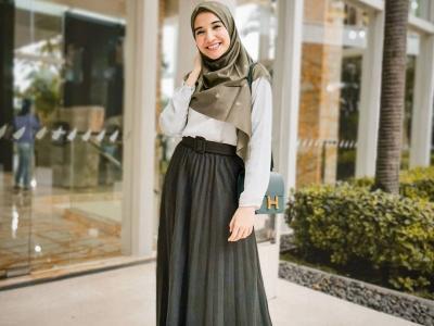 4 Inspirasi Gaya Hijab untuk Hijabers Berpipi Chubby