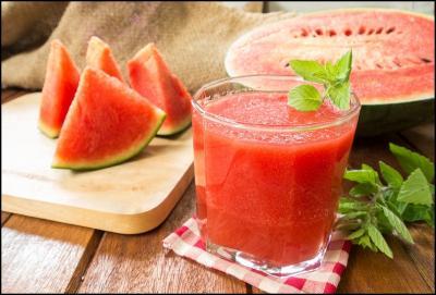Cara Bikin Jus Semangka, Cocok Diminum saat Siang Hari