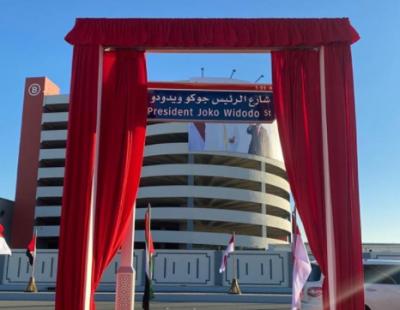 Namanya Diabadikan Jadi Jalan di Abu Dhabi, Jokowi: Eratnya Hubungan RI-UEA
