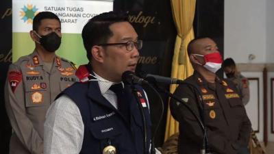 Ridwan Kamil Ajukan 3 Juta Vaksin Covid-19, Bodebek Prioritas