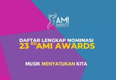 Daftar Lengkap 53 Nominasi AMI Awards 2020