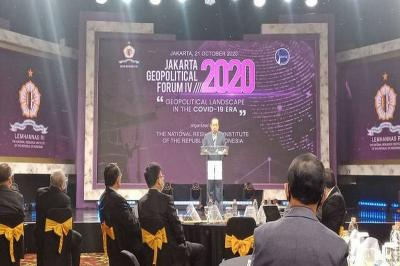 Dibuka Gubernur Lemhanas, Budiono hingga Menlu Retno Hadiri Jakarta Geopolitical Forum IV