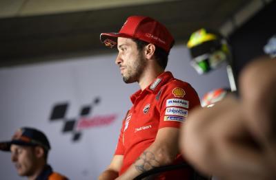 Gara-Gara Hal Ini, Dovizioso Pesimis Bisa Raih Hasil Manis di GP Teruel