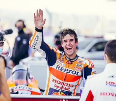 Meningkat Pesat, Honda Tak Pernah Ragukan Potensi Alex Marquez