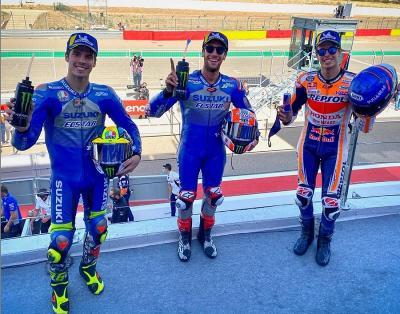 Naik Podium di Aragon, KTM Akui Ketangguhan Alex Marquez dan Rins