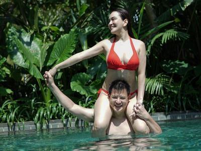 Shandy Aulia Pamer Bikini, Intip Potretnya Usai Menetap di Bali