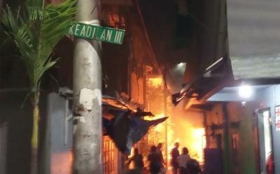 Kebakaran Rumah di Taman Sari Jakbar, 16 Mobil Damkar Dikerahkan