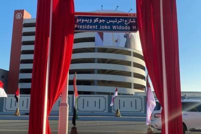 Tak Hanya Jalan, Uni Emirat Arab Juga Bangun Masjid Presiden Joko Widodo