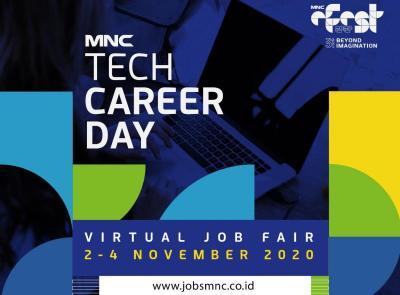 Siapkan CV Terbaik! Bursa Kerja MNC Tech Career Day Segera Dibuka di www.jobsmnc.co.id