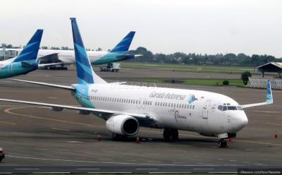 Harga Tiket Pesawat Garuda Turun hingga Akhir Tahun