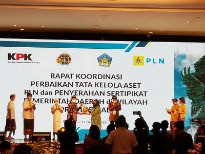 KPK Dorong 4.792 Aset Milik Negara di Bali Disertifikasi
