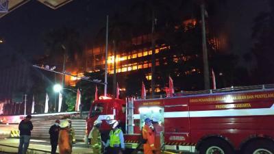 Ini Peran 8 Tersangka Penyebab Kebakaran Gedung Kejagung