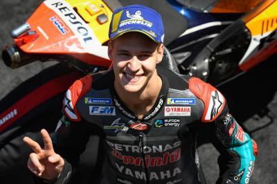 Quartararo Akan Tampil Tanpa Beban di MotoGP Teruel 2020