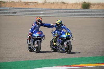 Dua Pembalapnya Berpeluang Juara Dunia, Suzuki Tidak Berpikir soal Team Order