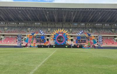 Stadion Lukas Enembe Resmi Diperkenalkan untuk PON 2020 Papua
