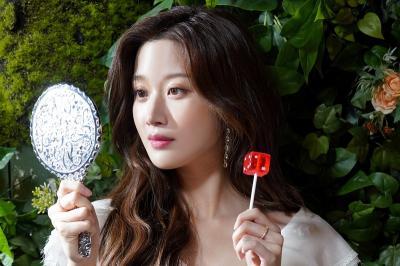 Tampilan Culun Moon Ga Young Jadi Im Joo Kyung dalam True Beauty