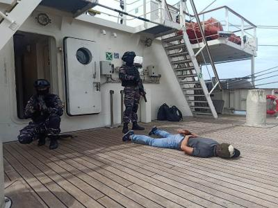 Gelar Passing Exercise, Guskamla Libatkan 4 Kapal TNI AL