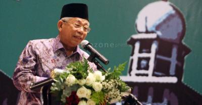 Produk Halal Rendah, Ma'ruf Amin: Selama Ini Indonesia Hanya Jadi Tukang Stempel