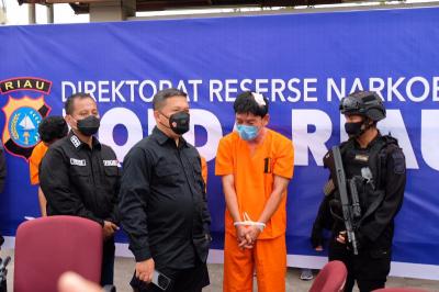 Kronologi Penangkapan Oknum Perwira Polisi Penyelundup 16 Kilogram Sabu