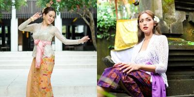 Pesona 5 Selebriti Berbusana Adat Bali, Cantik Banget!