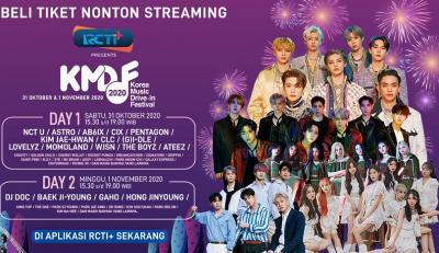 Dimeriahkan NCT U sampai ASTRO, Korean Music Drive-in Festival Disiarkan di RCTI+