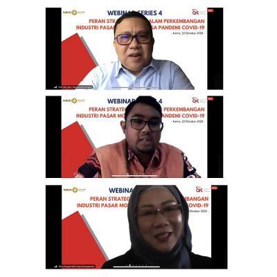 Sukses Gelar Webinar Series 4 Bersama OJK, MNC Asset: Ini Bentuk Sinergitas Kami Bersama Regulator