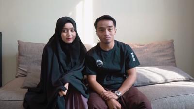 Istri Taqy Malik Bernazar Pakai Cadar setelah Punya Anak