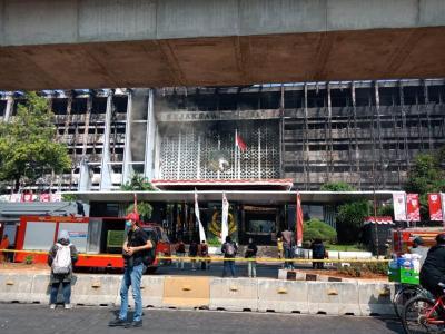 Besok, Polri Periksa 8 Tersangka Kebakaran Gedung Kejagung