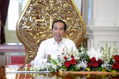 Presiden Jokowi: Vaksinasi Covid-19 Dilakukan Bertahap