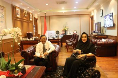Bahas Masalah Kebangsaan, Mahfud MD Bicara 4 Mata dengan Rachmawati Soekarnoputri