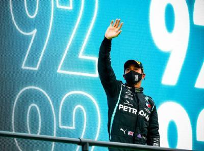 Puja-puji Wolff kepada Hamilton Usai Ukir Rekor Kemenangan 92 Kali